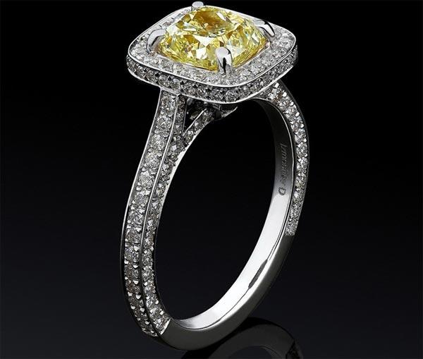 Кольцо дорогим камнем