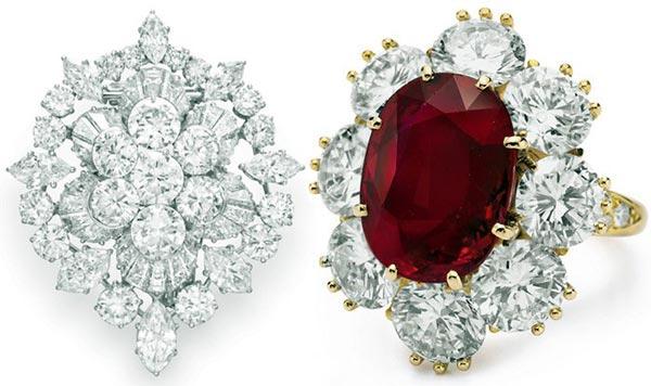 Драгоценные изделия из алмаза