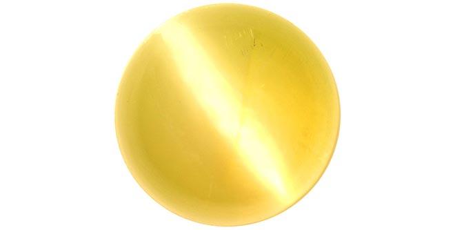 Желтый кошачий глаз