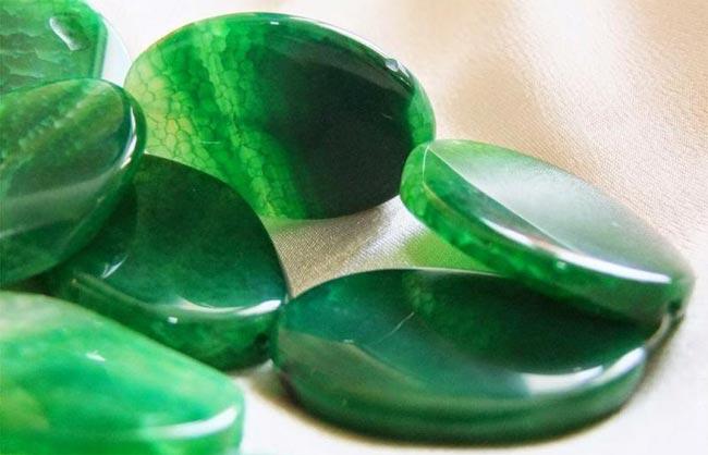 Зеленый агат, Плазма