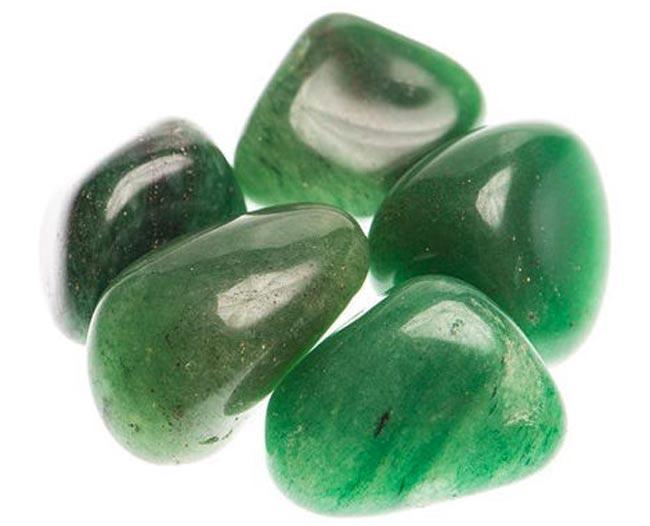 Зелёный Авантюрин - камень удачи и любви