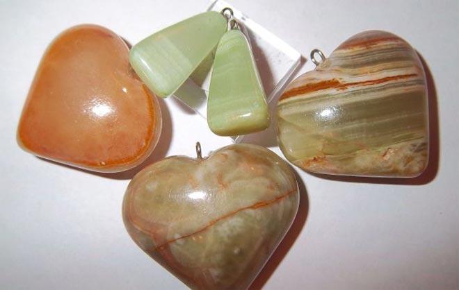 Изделия в форме сердец